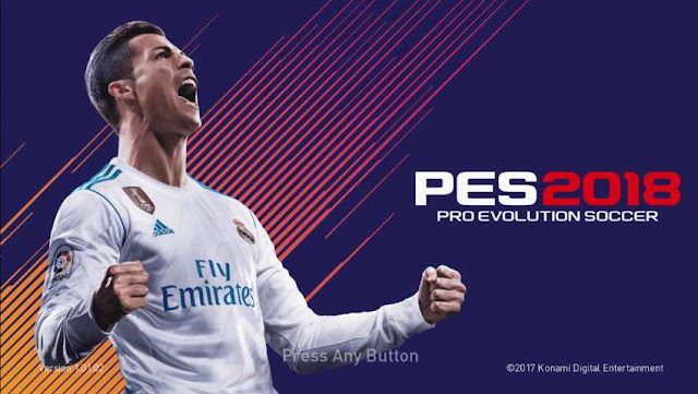 Graphics Menu FIFA 18 For PES 2018
