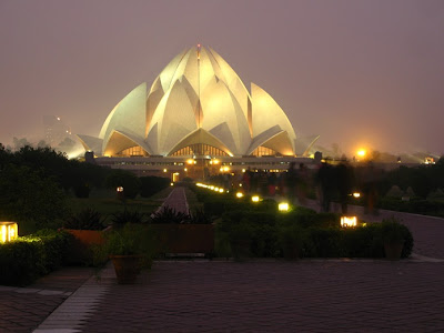 lotus temple din delhi india