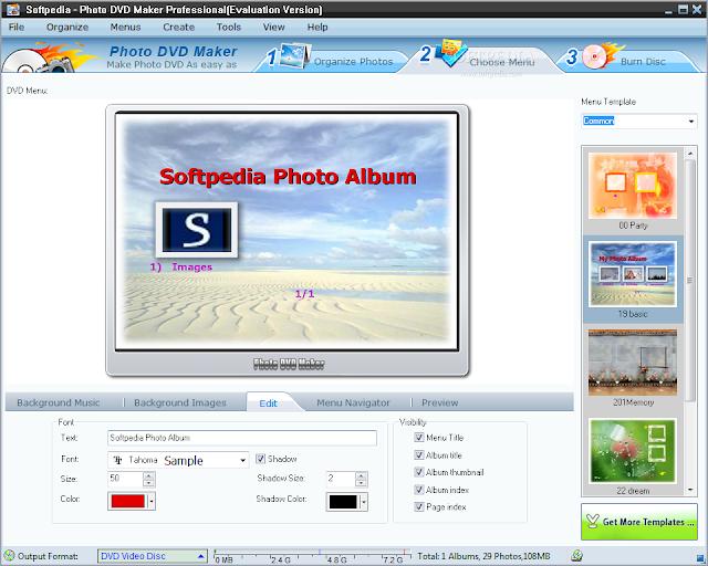 تحميل برنامج البومات الصور للكمبيوتر Photo DVD Maker