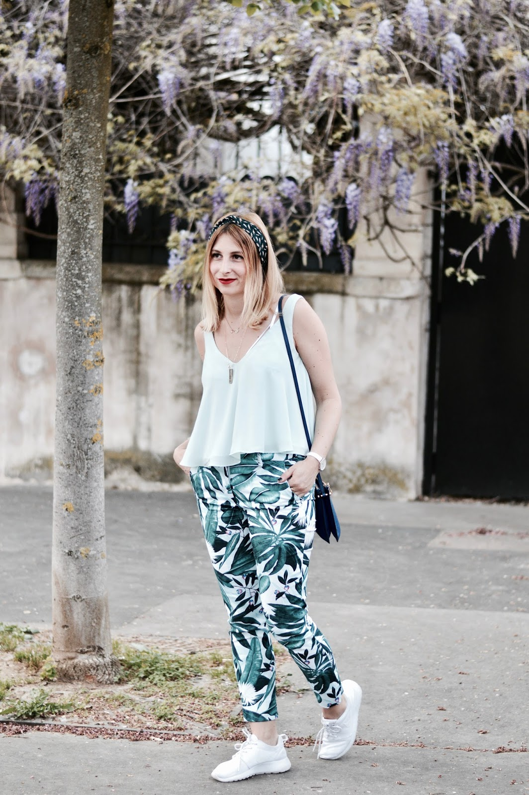 Look femme : tendance tropical