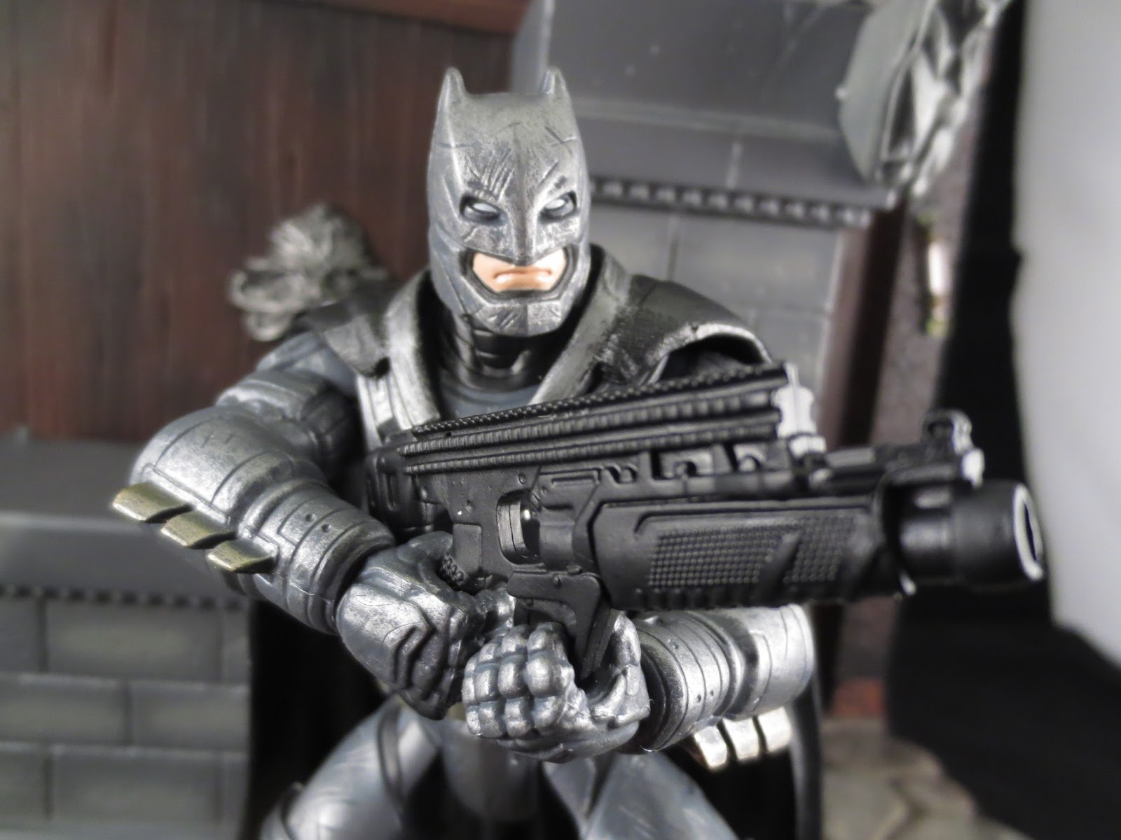 Action Figure Barbecue: Action Figure Review: Armored Batman from DC Comics Multiverse: Batman v ...