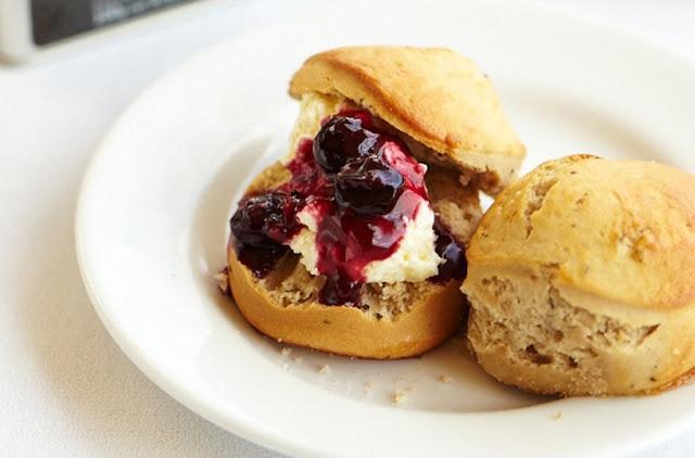 Earl Grey Scones with Berry Sensation Tea Jam