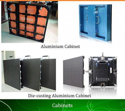 Phân phối màn hình led p5 cabinet, module led tại Cần Giờ