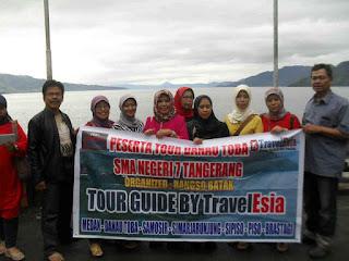 Peserta Tour Danau Toba SMA NEGERI 7 TANGERANG