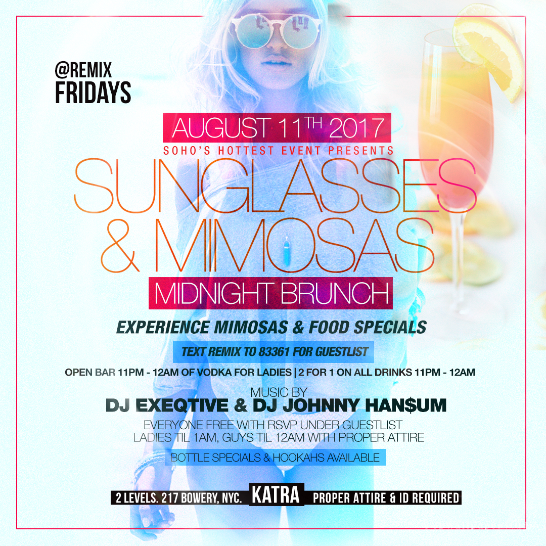 KATRA NYC - FRIDAYS AT DOWNTOWN'S HOTTEST CLUB LOUNGE Tickets, Fri ...