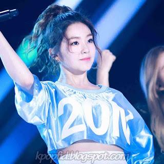 Foto Irene Red Velvet dance di Panggung