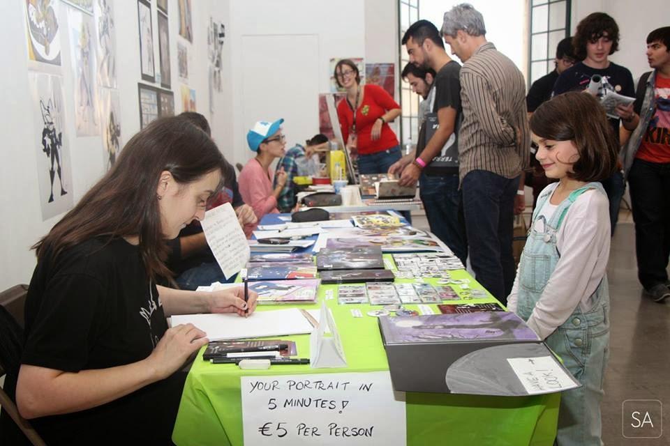 Malta Comic Con Artist