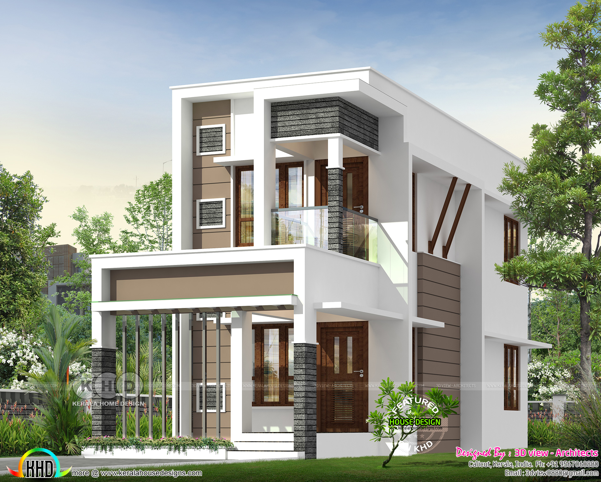 Small double storied house with 4 bedrooms | Kerala home ... on beach view house plans, birds eye view house plans, revit house plans, top house plans, small brick house plans, elevation house plans, home house plans, rear view house plans, best small house plans, autocad house plans, small country ranch house plans, small stone house plans, garden view house plans, plan house plans, one story brick ranch house plans, back view house plans, side view house plans, panoramic view house plans, front house plans, aerial view house plans,