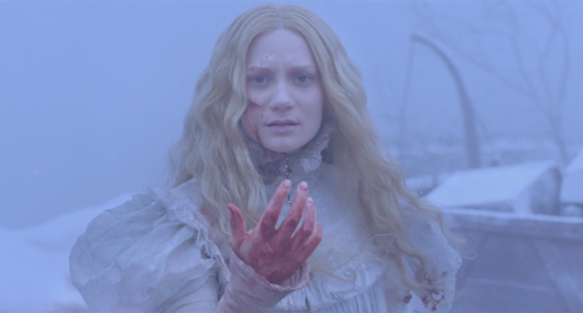 Mia Wasikowska as Edith Cushing in CRIMSON PEAK (2015)