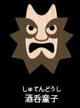 日本の神々の顔がわかるインフォグラフィック【c】