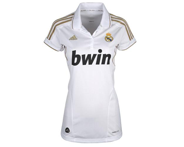 1182439f0c5e4 Camiseta mujer Real Madrid 2011 2012 - Nuevo Fútbol
