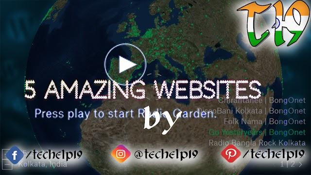 Top 5 amazing websites