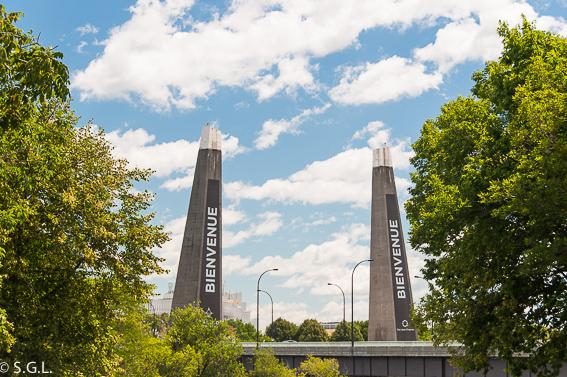 Puente parque Jean Drapeau. Montreal. Un paseo por el parque Jean Drapeau