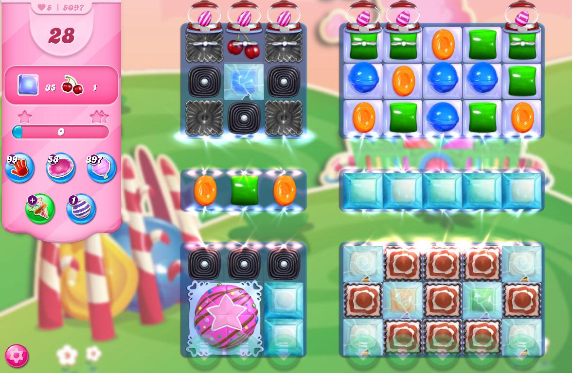 Candy Crush Saga level 5097