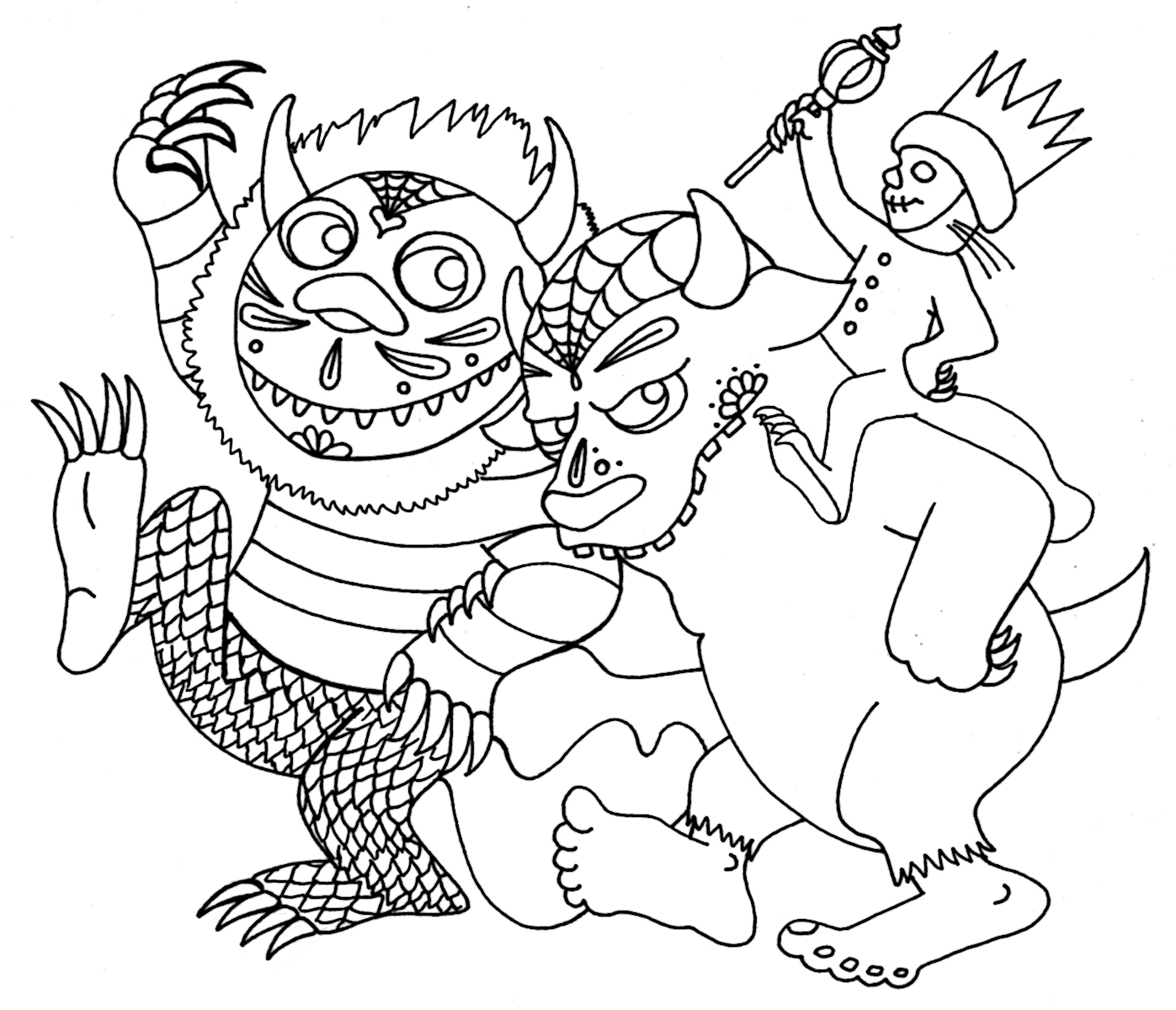 the wild coloring pages - photo#27
