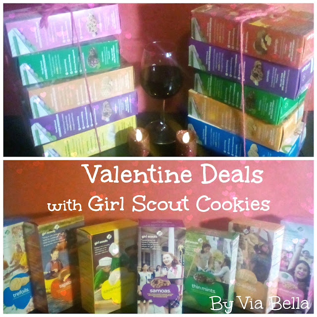Valentines Day, girl scout cookies