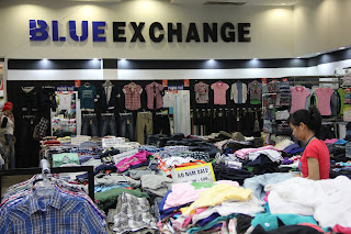 Blue Clothing Store Exchange