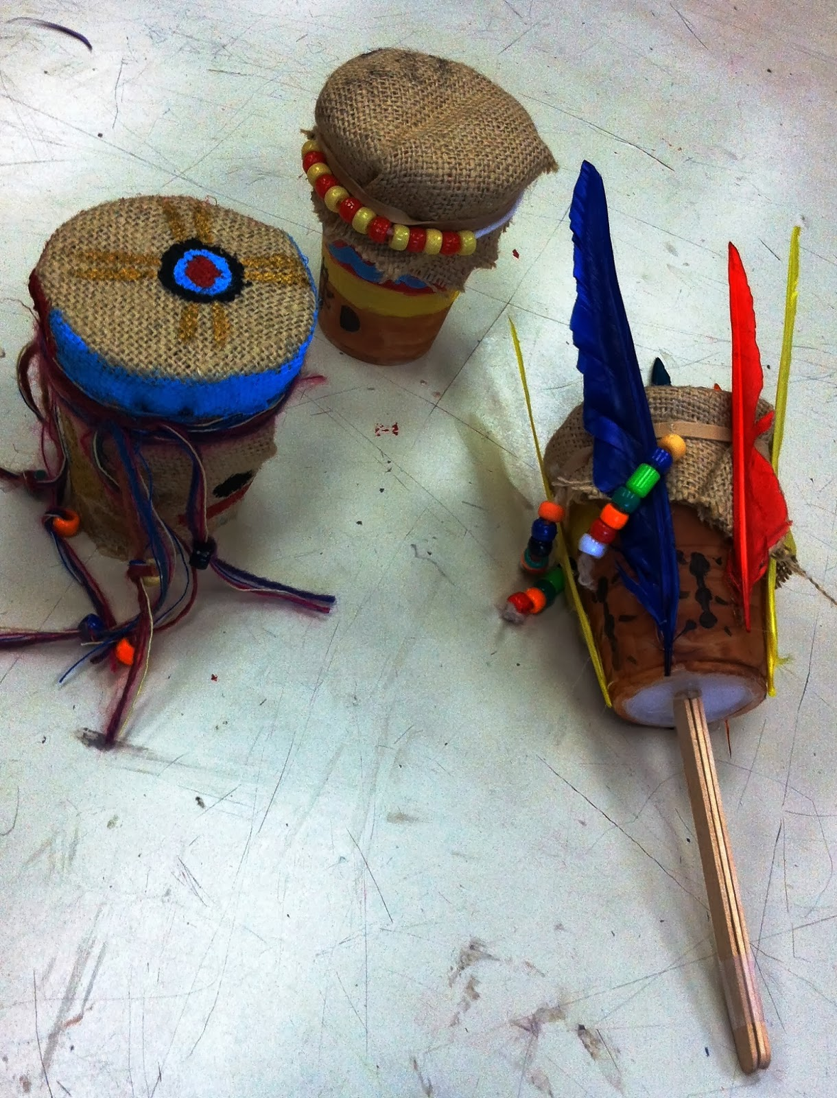 Miss Arty Pants Native American Inspired Instruments