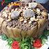 مقلوبة الباذنجان باللحم عالطريقة السورية