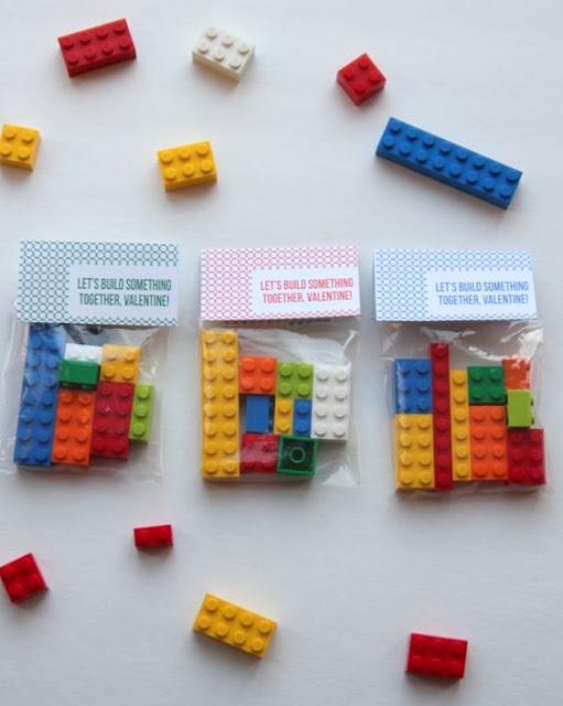 LEGO Valentines, non-candy valentines, kids valentines, DIY valentines