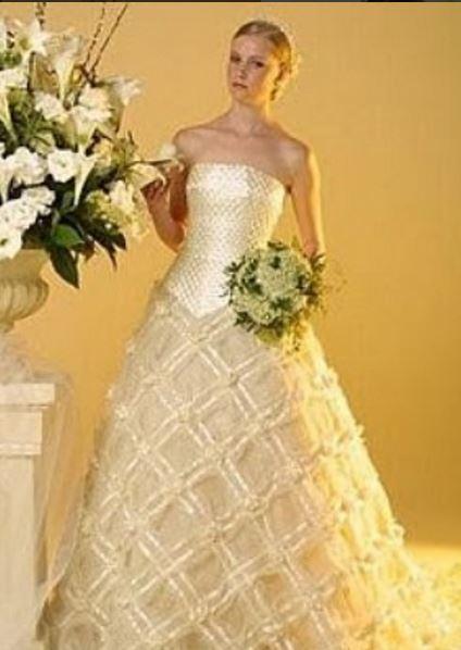 Estlista Ronaldo Esper vestido de noiva