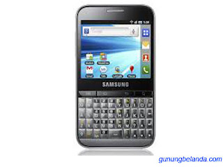 Cara Flashing Samsung Galaxy Pro GT-B7510