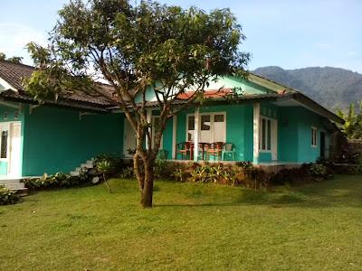villa disewakan villa hijau