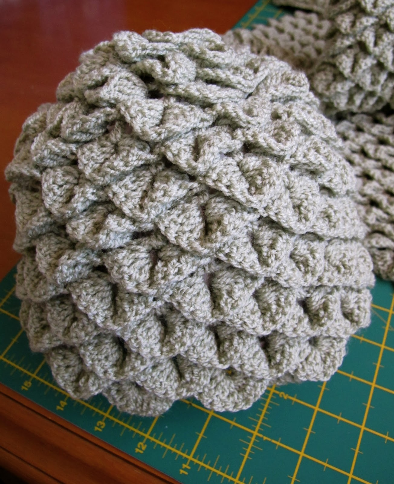 Crochet Scarf Pattern Diagram Youth Basketball Court Dimensions Hari Ku Topi Dan Crocodile Stitch