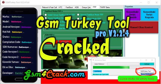 GSM Turkey Tool Pro v2.2.4 Cracked Version