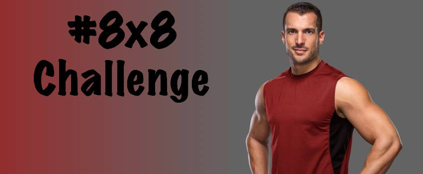 Decide, Commit and Succeed: Half and Half and 8x8 Workout