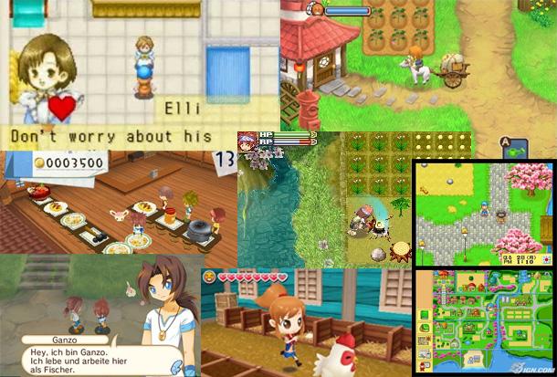 Review zur Harvest Moon Reihe