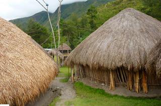 Desain Rumah Adat Papua Terpopuler 5