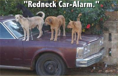Funny Redneck Joke : Redneck Car Alarm