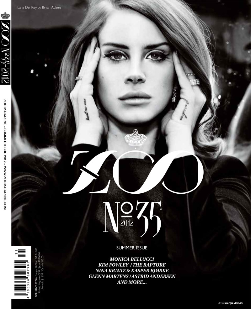 LANA DEL REY for ZOO MAGAZINE SUMMER ISSUE