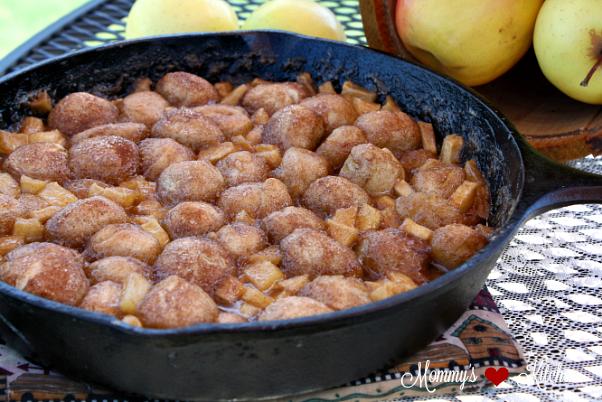 Skillet Apple Dumpling Bites