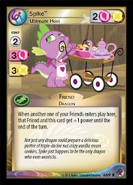 My Little Pony Spike, Ultimate Host Marks in Time CCG Card