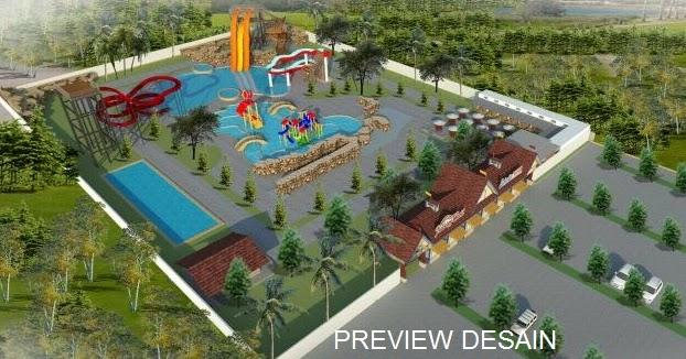 JASA DESAIN 3D INTERIOR GAMBAR EKSTERIOR: Jasa Design 3D Kawasan Wisata  Taman Edukasi
