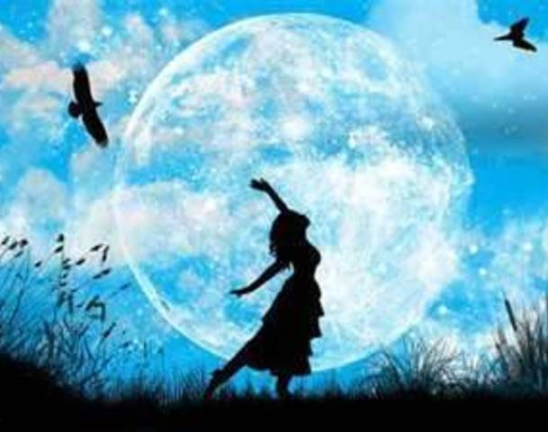 It S Not Actually Blue In Colour No But That Would Be Pretty Cool The Moon Gets Its Name From Old English Word Belewe Which Meant Betrayal