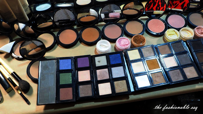 bobbi brown makeup backstage at nyfw