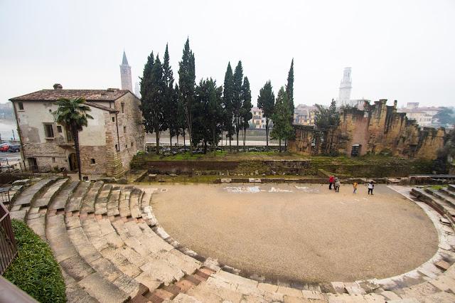 Teatro romano e museo archeologico-Verona