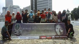 Mahasiswa dan Pemuda Aceh di Jakarta Galang Dana untuk Rohingya