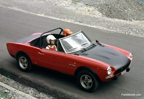 Original Fiat 124 Abarth Rally