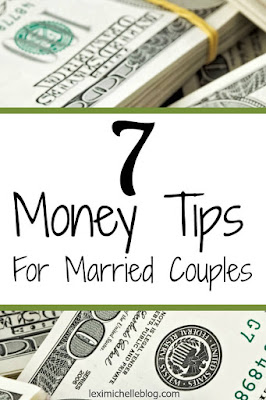 7 money tips for married couples