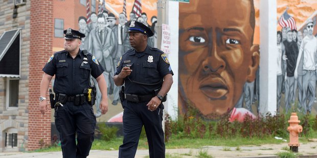 Riot-scarred Baltimore : Freddie Gray's death