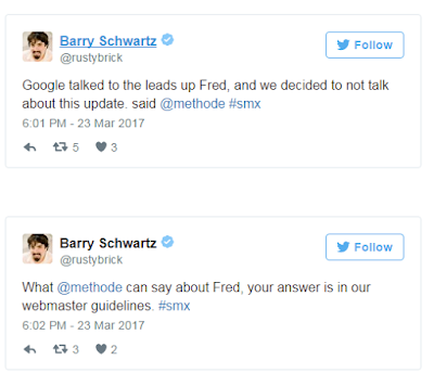 تحديث جوجل google fred