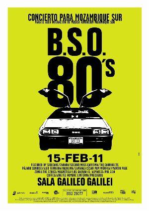 Concierto BSO 80s en la sala Galileo