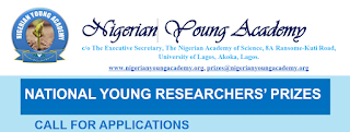 NYA National Young Researcher's Prizes Call for Applications 2019