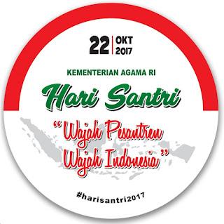 File Pendidikan FREE DOWNLOAD LOGO HARI SANTRI NASIONAL 2017
