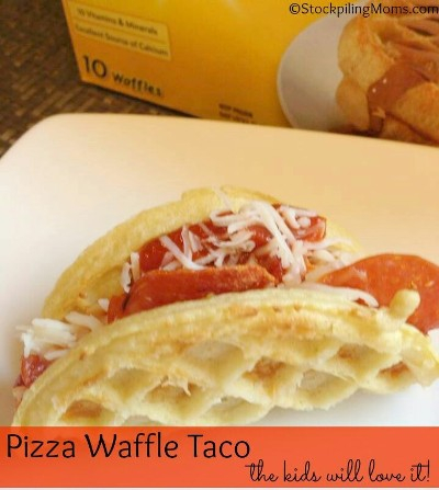 Pizza Waffle Taco