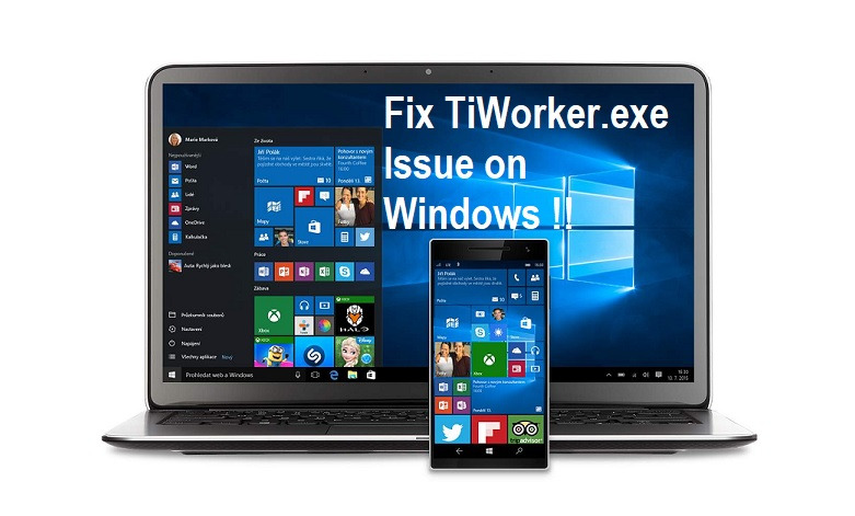 Fix Windows Modules Installer Worker (TiWorker.exe) Issue on Windows